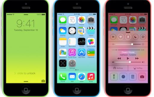 iPhone 5c 3x