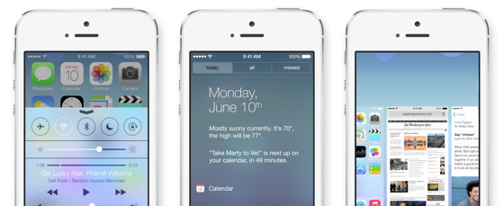 iOS 7 de vernieuwingen Apple keynote
