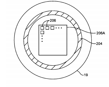 Patent vingerafdruk nfc homeknop