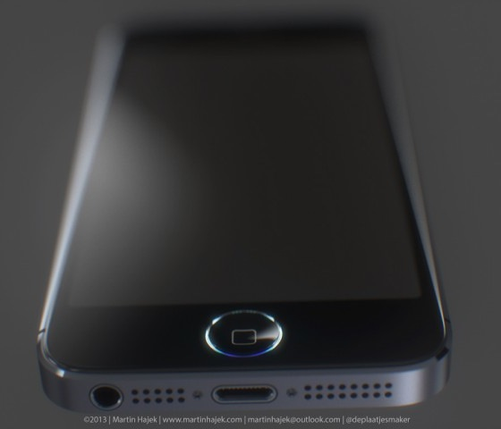 iphone 5s blauwe ring