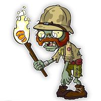 Plants vs Zombies 2 explorer zombie