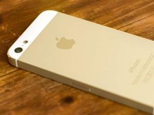 iphone 5s goud mockup