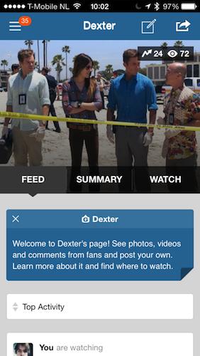 GetGlue Dexter