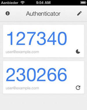 google-authenticator-cijfers