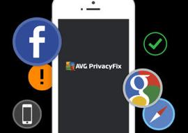 AVG PrivacyFix iPhone Facebook privacy