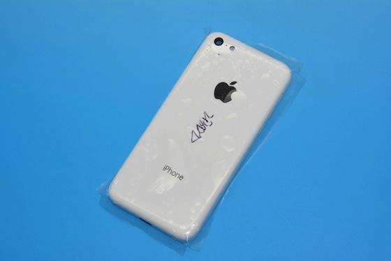 iPhone 5C wit