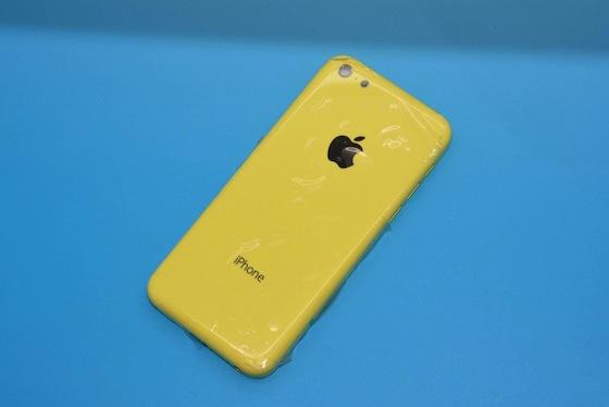 iPhone 5C geel