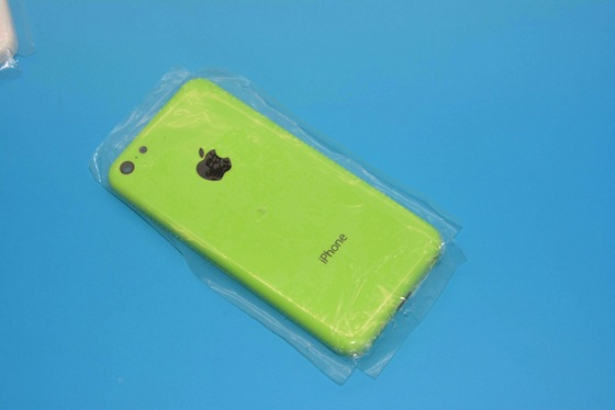 iPhone 5C groen
