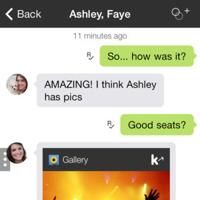 KIK Messenger iOS 7