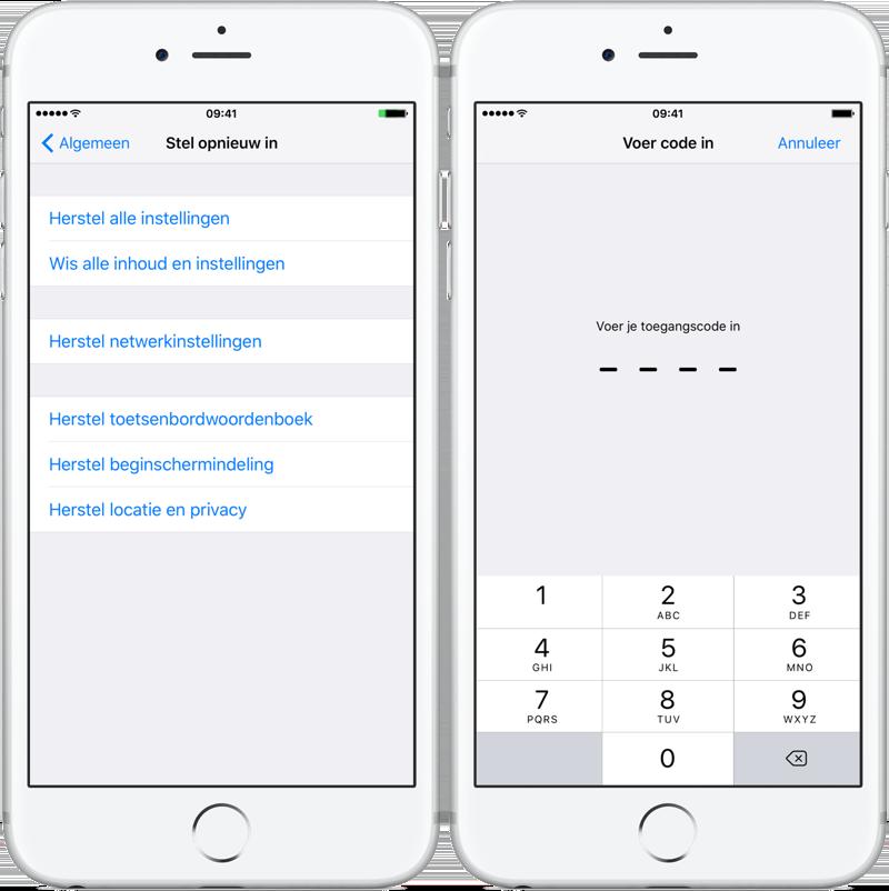 iPhone verkoopbaar maken