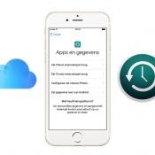 Zo maak je een iCloud backup van je iPhone of iPad (reservekopie)