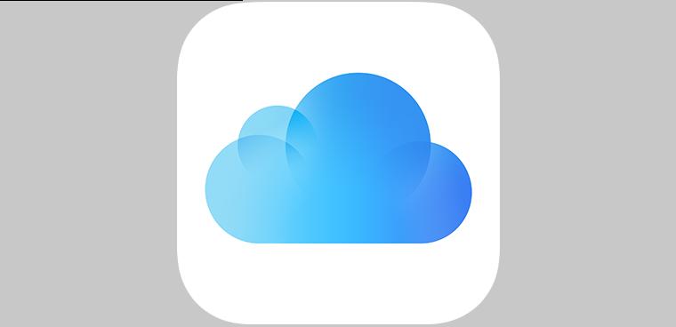 iCloud icoon
