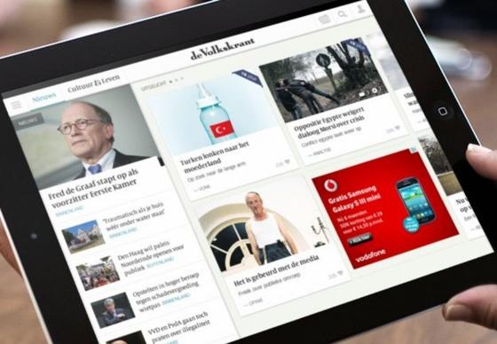 Volkskrant HD iPad-app 2014