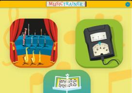 Mobile Music Trainer iPad noten leren