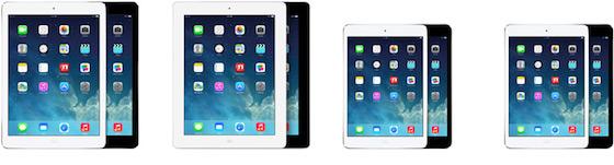 iPads compare