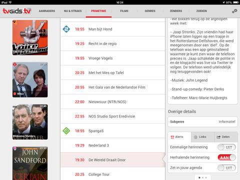 TVGiDS.tv populair en toelichting