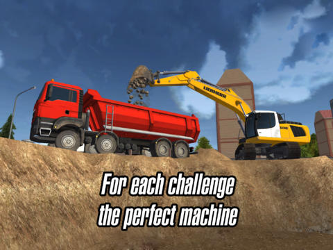 Construction Simulator 2014 iPad header