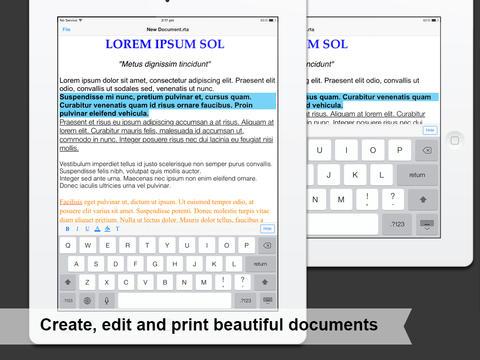 Files tekstverwerken iPad iPhone
