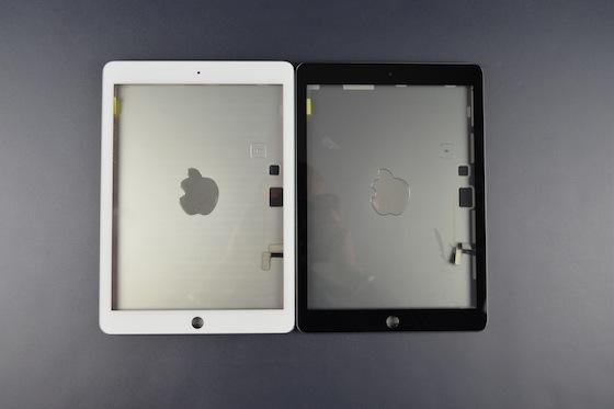 iPad 5 zilver spacegrijs