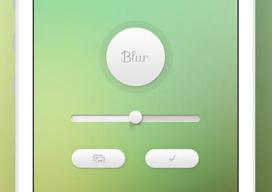 Blur achtergronden-app iPhone