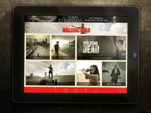 The Walking Dead TV Episodes iPad header