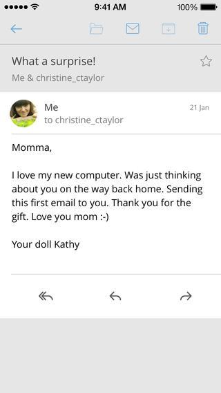 CloudMagic e-mail bericht