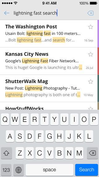 CloudMagic mail doorzoeken iPhone
