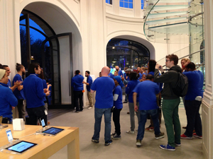 apple store oktober 2013