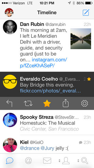 Tweetbot 3 for Twitter timeline