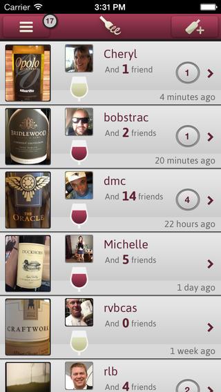 Wine with Friends overzicht wijnen