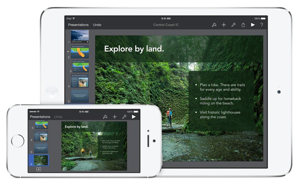 iWork-apps Keynote vernieuwd