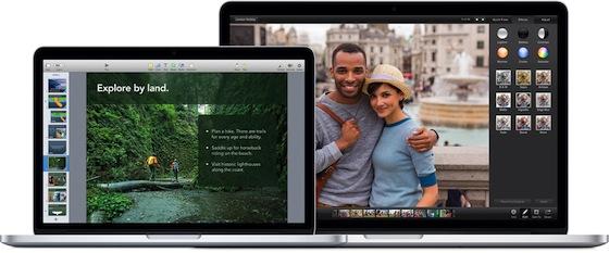 MacBook Pro iPhoto