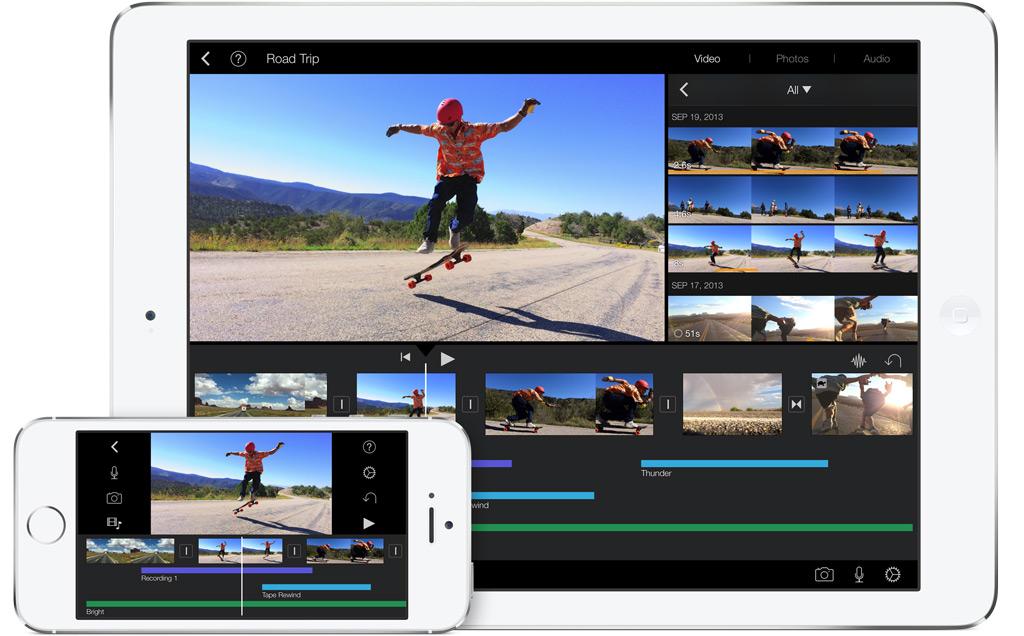 iLife iMovie vernieuwd iOS 7