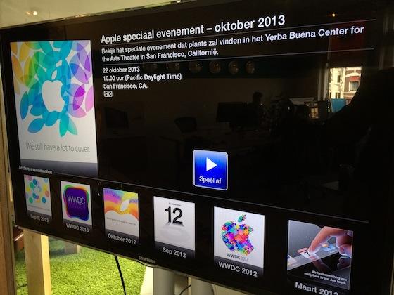 Apple TV livestream