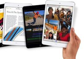 iPad mini retina 4 keer spotlight