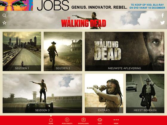 The Walking Dead iPad