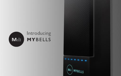 Deurbel Voor Iphone.Mybells Deurbel Met Iphone App En Basisstation Met Touchscreen