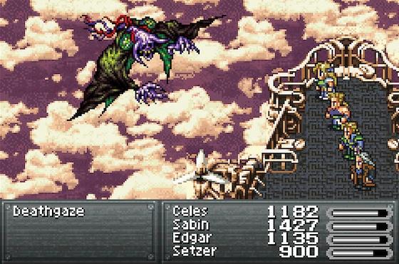 Final Fantasy VI screen