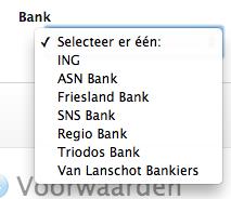 iDeal online Apple Store banken