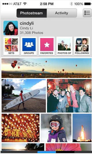 Flickr upload