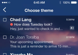 Yahoo Mail iOS 7 metamorfose iPhone iPad