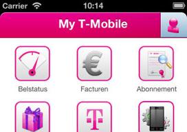 My T-Mobile iPhone belstatus