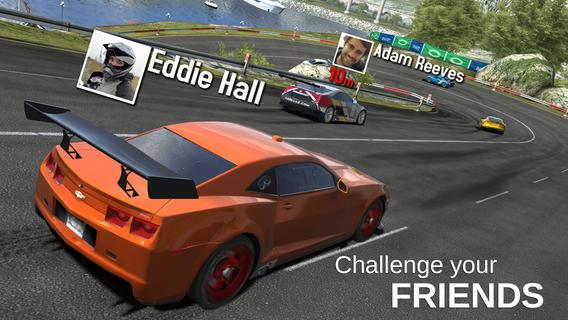 GT Racing 2 namen boven racers