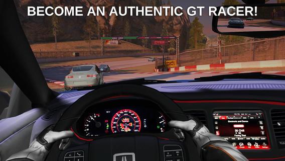 GT Racing 2 cockpit racen