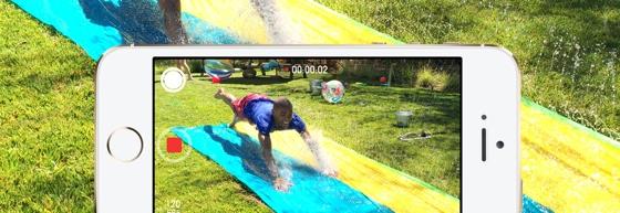 iPhone 5s slow motion filmen apps