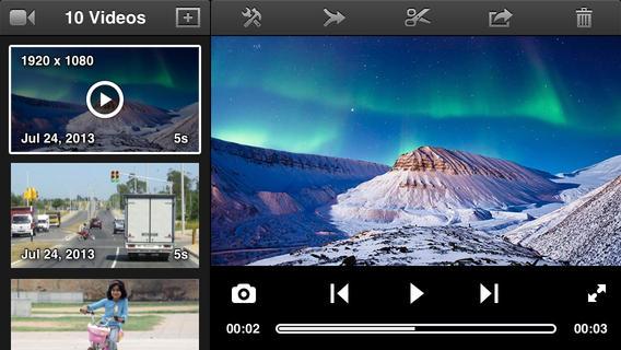 Videon slow motion filmen iPhone 5s