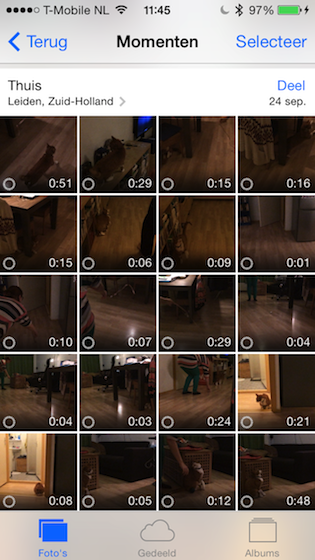 Slow-motion camerarol