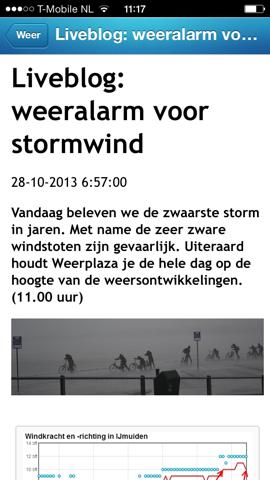 Storm-apps Weerplaza liveblog