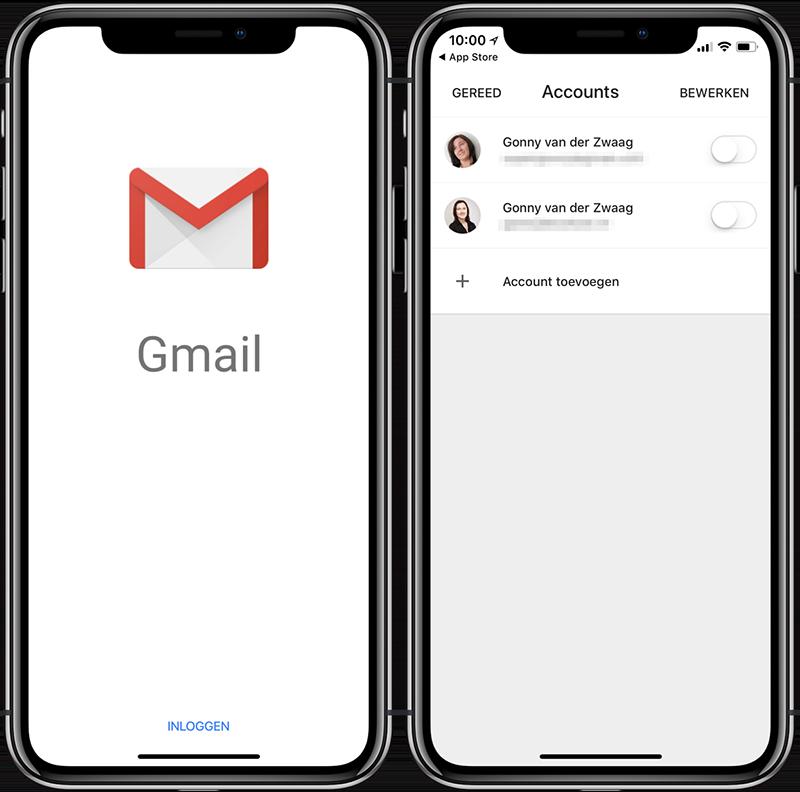 Gmail instellen op iPhone