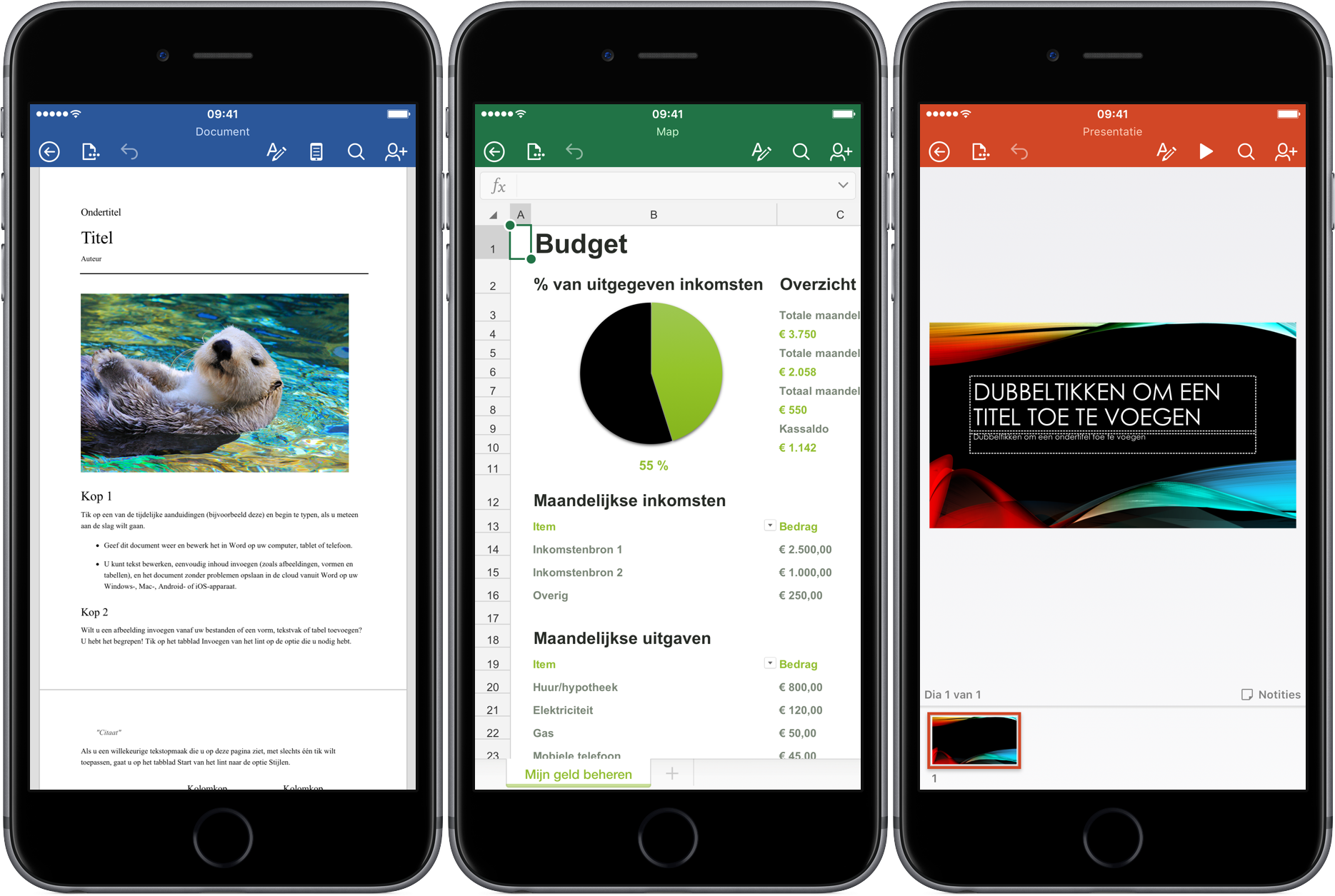 Microsoft Office voor iPhone